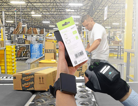 Portable barcode scanner with a glove help your warehouse Increase productivity